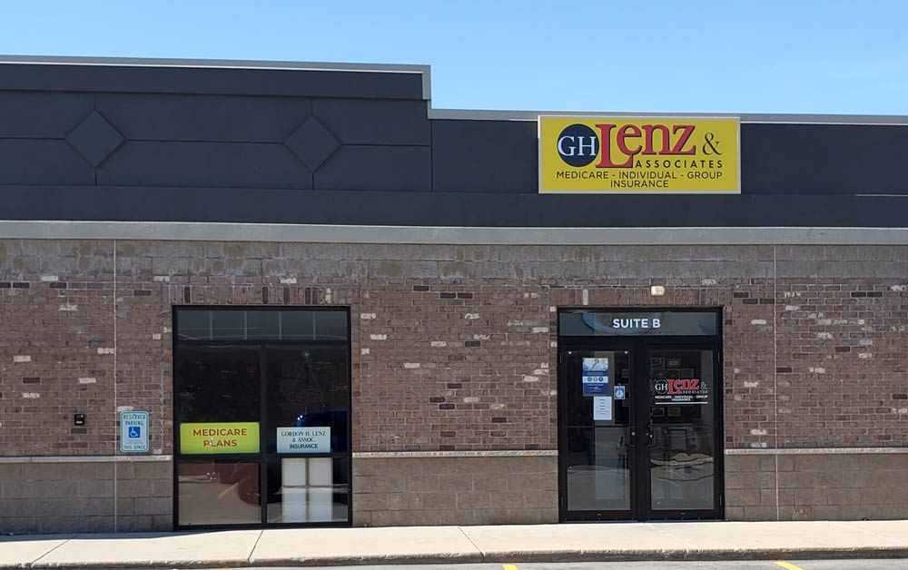 Gordon Lenz Insurance building at 11880 Velp Ave Suite B Green Bay WI 54313